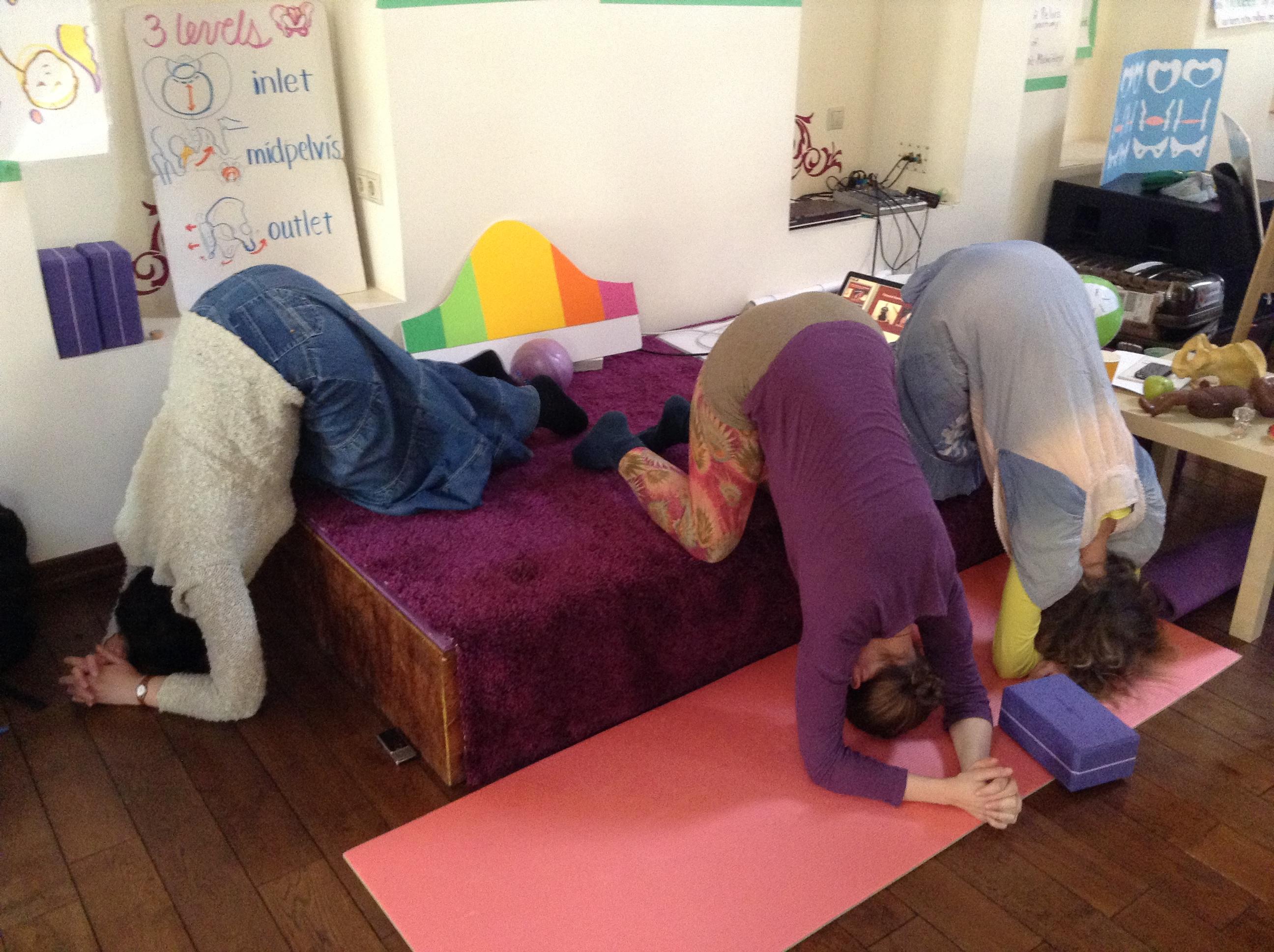 Гимнастика для беременных чтоб ребенок перевернулся